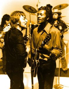 """""""If you tried to give rock and roll another name, you might call it 'Chuck Berry'."""" - John Lennon"""