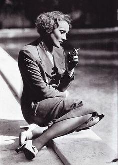 Marlene Dietrich, 1930's. ☀