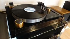 Yamaha PF-800, High-End Plattenspieler / Turntable mit MC-System. RAR