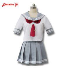 Nhật bản Anime Tình Yêu Sống Ánh Nắng Mặt Trời Cosplay Costume Takami Chika Cô Gái Thủy Thủ Đồng Phục Tình Yêu Sống Aqours Đồng Phục Học Sinh