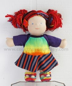 rainbow #courtneycourtney #eco #upcycled #recycled #repurposed #tshirt #vintage #dress #girls #unique #clothing #ooak #designer #upscale #silkscreen #rainbow #tiedye