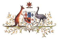 The original drawing of the Coat of Arms of Australia, the official symbol of… Australia Map, Western Australia, Australian Coat Of Arms, Kangaroo Facts, The Spectator, Australian Animals, Flags Of The World, Artist Gallery, Art Store