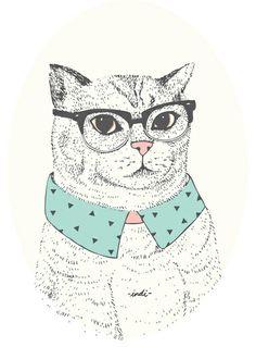 Fancy Cat by Indi Maverick