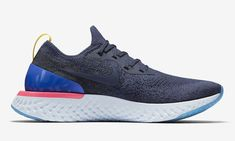 Nike Epic React Flyknit  Blue Style AQ0067-400 #Nike #AthleticSneakers
