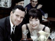 Shirley MacLaine and Jack Lemmon during the filming of Irma La Douce, 1963