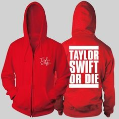 Plus size zip up hoodie for men Taylor Swift