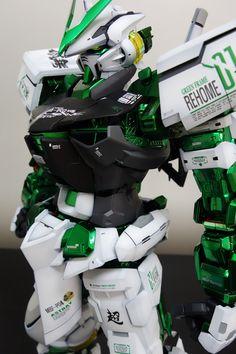 GUNDAM GUY: PG 1/60 Gundam Astray Green Frame - Painted Build