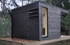 add a room: one+ sauna house Backyard Office, Garden Office, Saunas, Tiny House, Sauna House, Add A Room, Garden Cabins, Sauna Design, Design Design