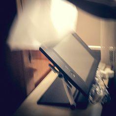 Unpacking Wacom Cintiq 24HD. We got it! :)