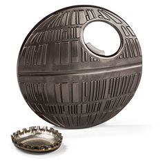 So you've already got several bottle openers. You probably don't have one that looks like the Death Star, though. May the Star Wars Death Star Bottle Opener be with you.  We give the Death Star major props for its sound architectural design. As demonstrated by the LEGO version of