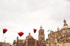 Tuvó una lluvia de amapolas en el centro de la ciudad de México los últimos 3 y 4 de septiembre  ¡ Check this out !