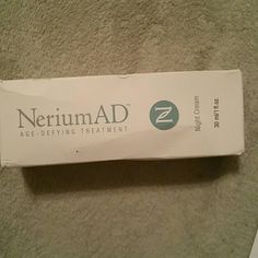 Nerium Ad Nerium Ad  is an age defying  night Cream formulated to improve the appearance of fine lines wrinkles discoloration skin texture and aging skin non-comedogenic paraben free gluten free and cruelty free retails for $110 and can only be purchased through  Nerium distributor nerium Ad  Other