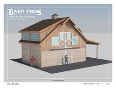 Barndominium The Denali Barn with Apartment 24 - Barn Pros