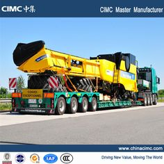 cimc low bed trailer  70 tons-rick,che email :may@chinacimc.org +008613589025822