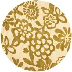 Safavieh Soho Beige/Green 6 ft. x 6 ft. Round Area Rug-SOH837A-6R at The Home Depot