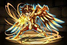 Cavaleiro de ouro - Aioros de Sagitário - Attack 2 - versão chibi