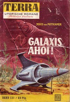 Terra, Utopische Romane Science Fiction 131