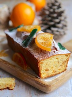 Christmas spice cake - Recettes - Healt and fitness Sheet Cake Recipes, Homemade Cake Recipes, Easy Bread Recipes, Banana Bread Easy Moist, Banana Bread Cake, Chocolate Chip Recipes, Banana Bread Recipes, Spice Cake, Lemon Desserts