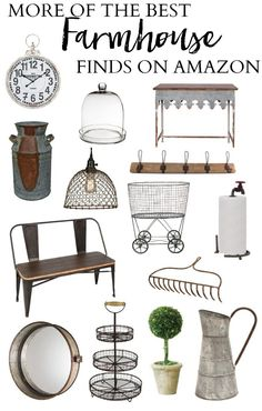More of the best farmhouse finds on Amazon!