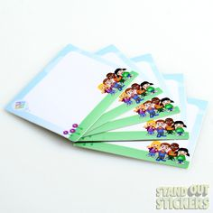 Promotional Rectangular Stickers - StandOut Stickers
