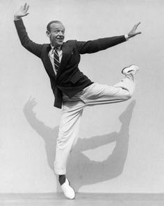 Fred Astaire & Gregory Hines - my two favorite dancers.
