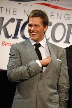 Brady at the annual Kickoff Gala