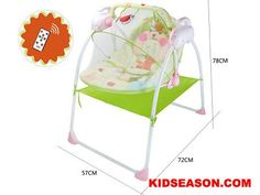 Kidseason Toys, Commodity, Baby Products, REMOTE CONTROL BABY ROCKING CHAIR WITH TIMINGA AND MUSIC AIDING SLEEP FUNCTION,China