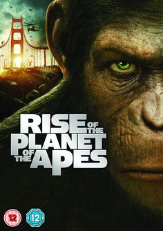 """Rise of the Planet of the Apes (2011) directed by Rupert Wyatt, based on the novel by Pierre Boulle, starring James Franco, Andy Serkis, Freida Pinto, Brian Cox, Tom Felton and John Lithgow. """"A substance, designed to help the brain repair itself, gives rise to a super-intelligent chimp who leads an ape uprising."""""""