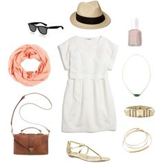 A sweet outfit for summer