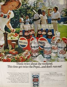 Pepsi Magazine Ads | ... Vintage Pepsi-Cola Ad ~ Tiffany Glasses, Vintage Beverage Ads (Other