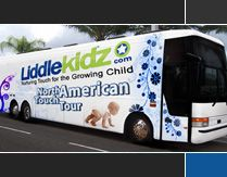 Liddle Kidz Foundation North American Touch Tour Bus