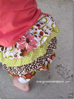 cute ruffle skirt