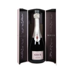 Krug Rosé 375 ml Case. Krug Rosé is the only prestige cuvée rosé blend of a rich range of wines from three grape varieties. An unusual champagne, extravagant and exceptional.