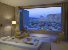 Luxury desert resort Amangiri, Utah, US