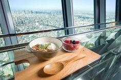東京スカイツリーコミックいつかティファニーで朝食をとコラボした朝食イベント