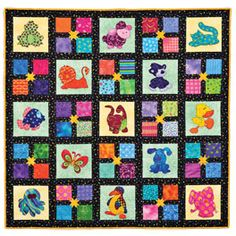 Animal Party Quilt Pattern