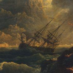 Shipwreck by Claude Joseph Vernet (detail)