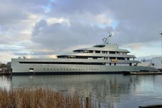 Another pic of a new launch at @Feadship The world's first hybrid superyacht, 'Savannah' perhaps one of the most innovative superyachts yet.