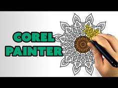 How To Color Line Art with Corel Painter - YouTube