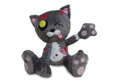 Plush zombie hoardPrepare for the zombie apocalypse with Mega-Death Mittens photo
