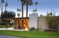 mid century modern house rancho mirage