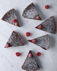 Silkiest Chocolate Tart Recipe by Tasty