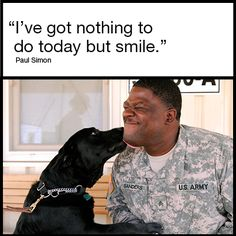 """I've got nothing to do today but smile."" #inspiration"