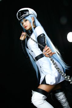 [Hori] アカメが斬る!: エスデス - コスプレCure I'm pretty sure this is Esdeath from Akame ga kill
