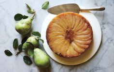 Pear Upside-Down Cake - Bon Appétit