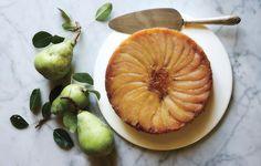Pear Upside-Down Cake - Bon Appétit