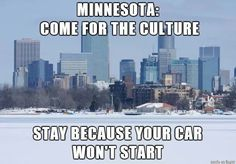 "I see your ""Arkansas Tourism Guide"" and raise you Minnesota. #funny #lol Click the photo to see more!"