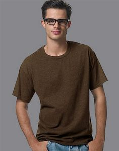 Now the Hanes soft cotton-blend men's T-shirt is better than ever before: It's an EcoSmart shirt! That means it's made with up to 5% polyester created from recycled plastic bottles.      ComfortBlend jersey fabric combines 50% cotton/50% polyester, specially knit for softness.     Lay Flat Collar stays flat, keeps its shape - guaranteed!     Durable double stitching reinforces neck, sleeves, and hem.     Sizes up to 4XL!