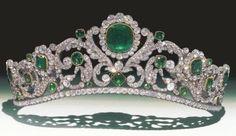 The Duchess of Angoulême's Emerald Tiara