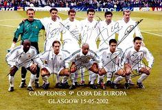 EQUIPOS DE FÚTBOL: REAL MADRID Campeón de Europa 2001-02